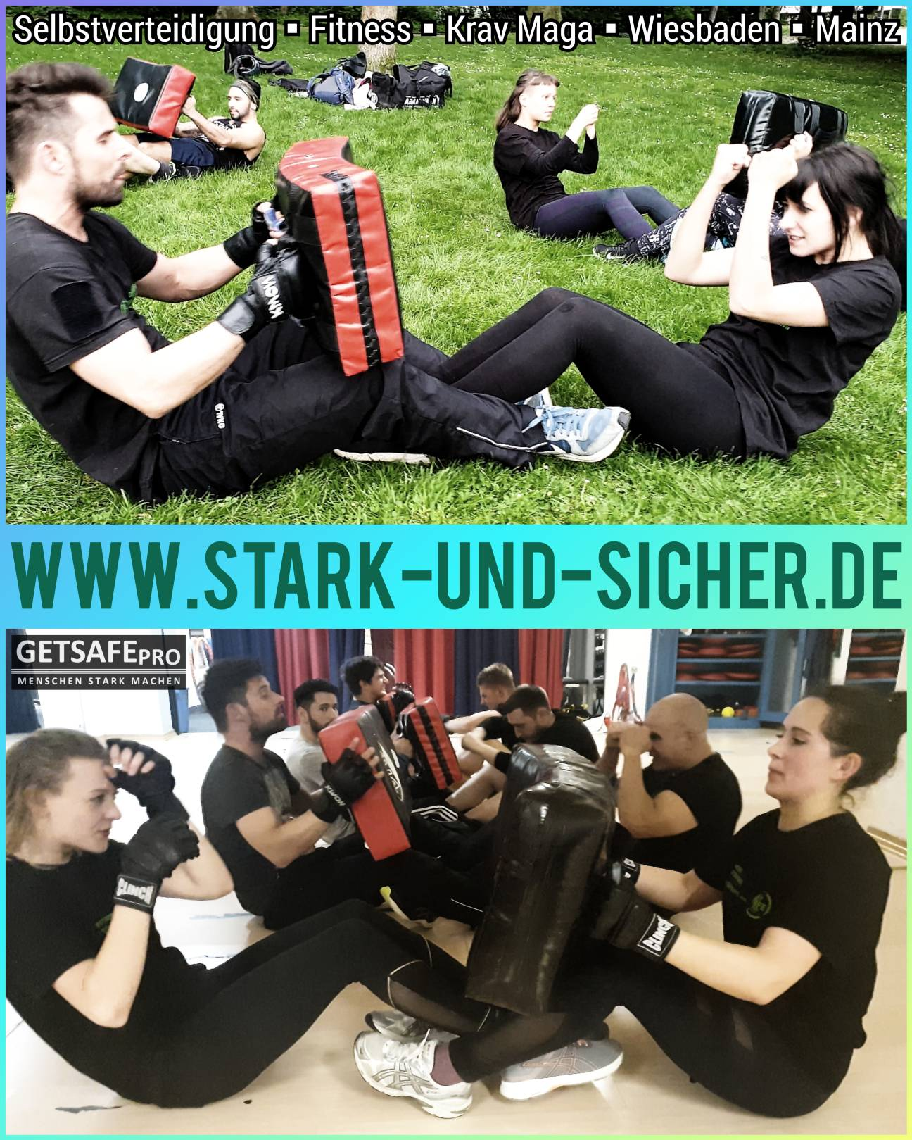 GETSAFEpro Krav Maga Outdoor Traininig Selbstverteidigung Fitness (2)