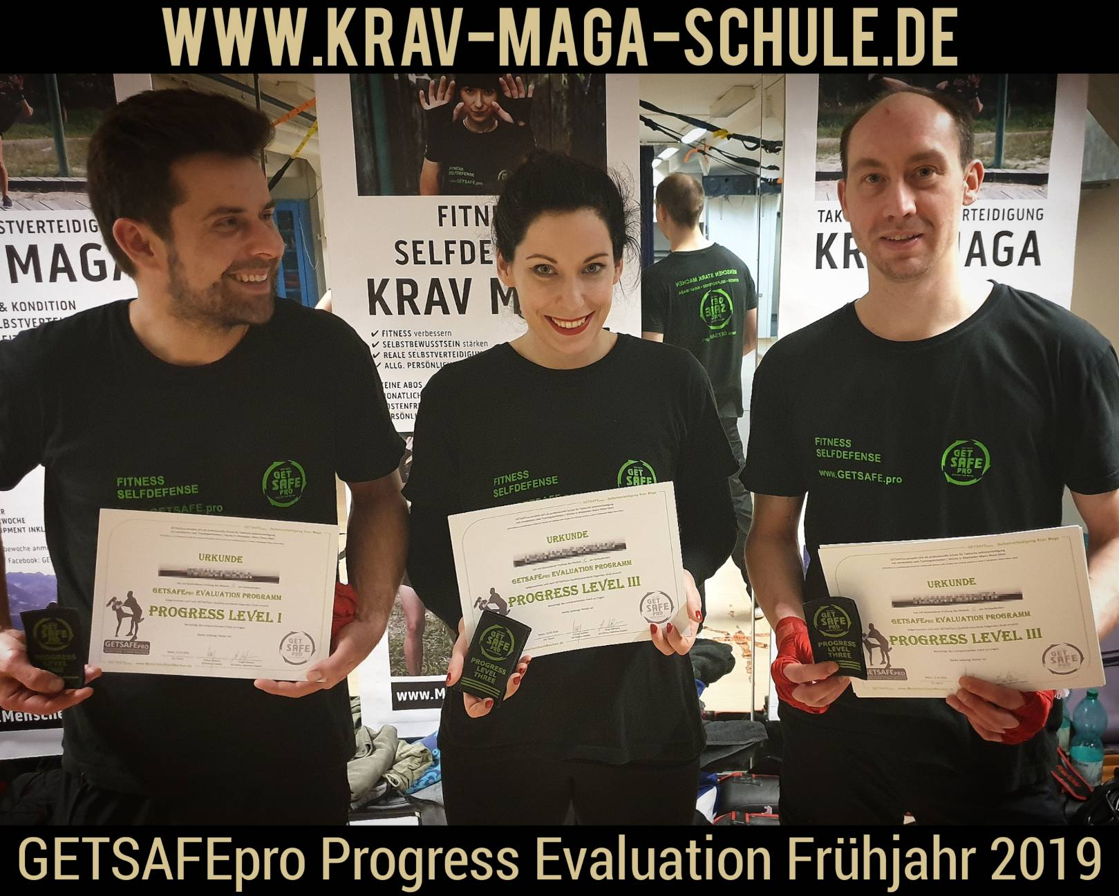 GETSAFEpro Krav Maga Prüfung Progress Evaluation Level Test (2)