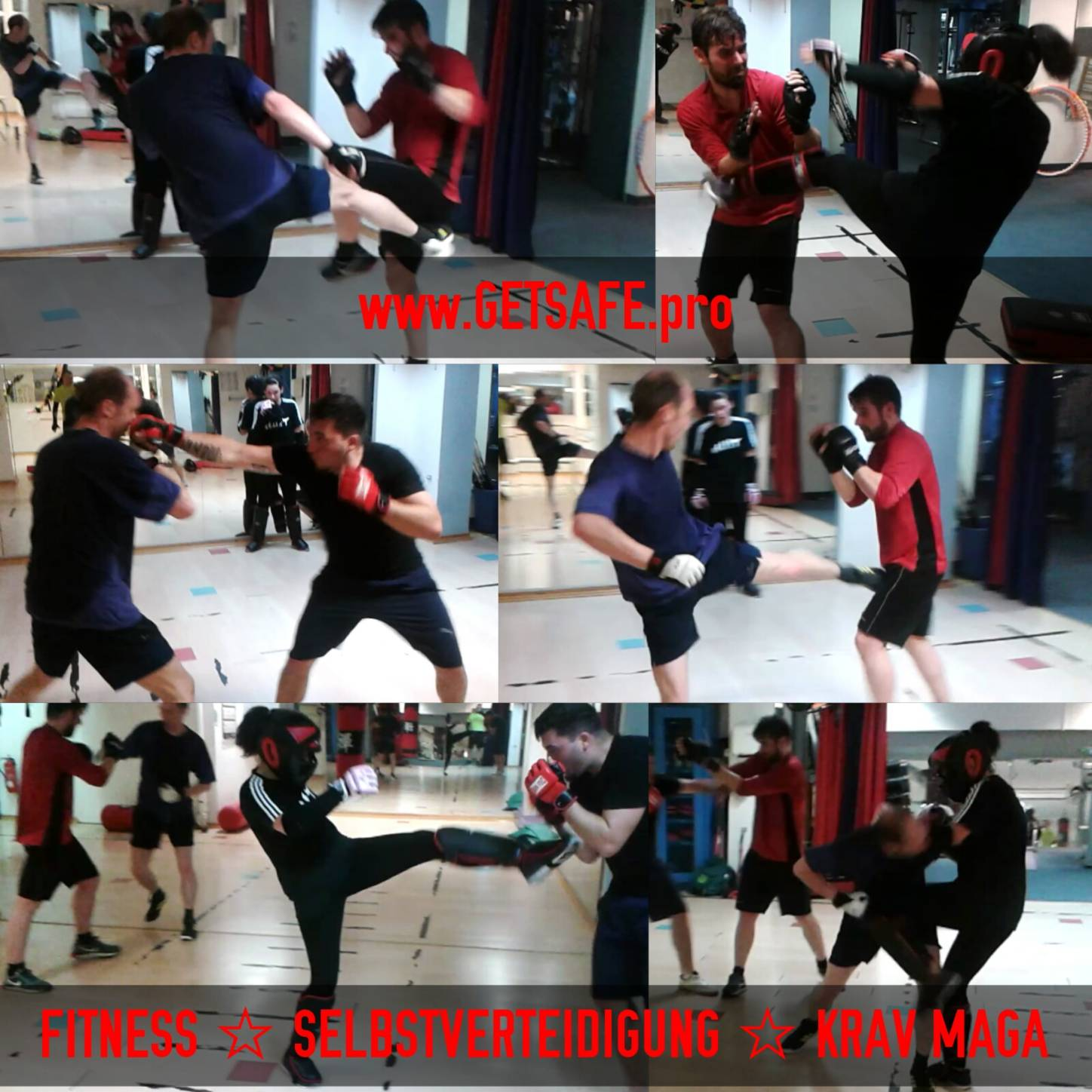 GETSAFEpro Krav Maga Training Mainz Selbstverteidigung Fitness-Center Mainz City (2)