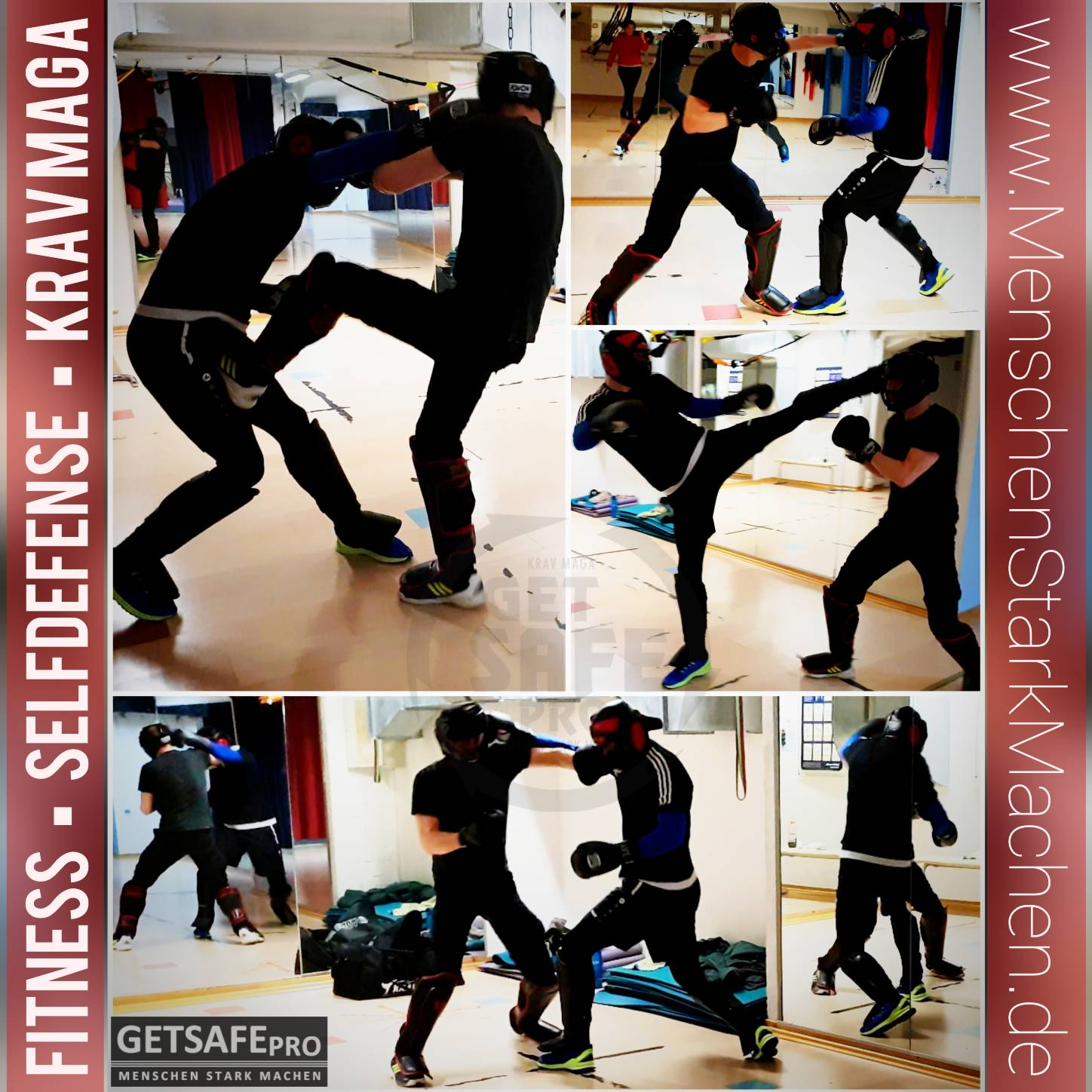 GETSAFEpro Krav Maga Training Mainz Selbstverteidigung Fitness-Center Mainz City (69)