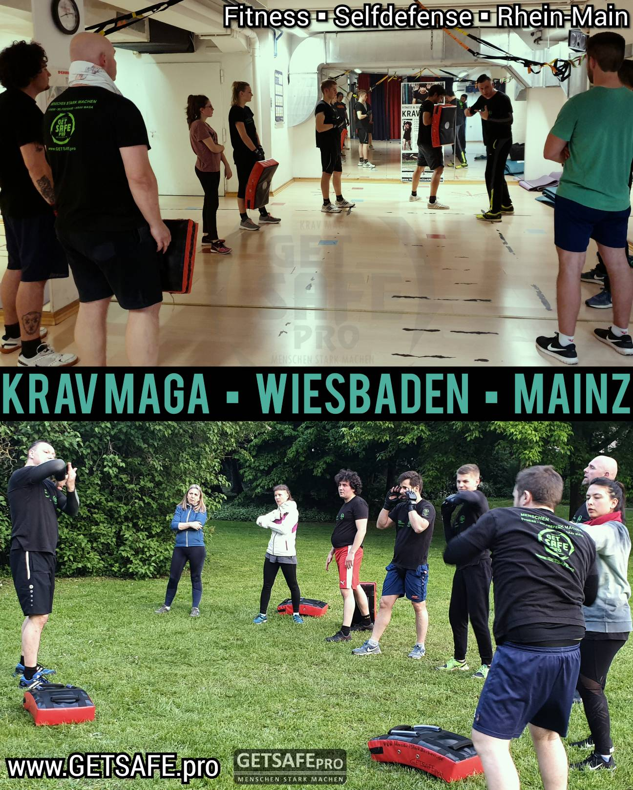 GETSAFEpro Krav Maga Indoor Training Outdoor Selbstverteidigung Fitness (4)